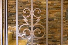 Орнамент на парапет от ковано желязо 9046