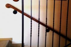 Ръкохватка за стена и парапет от ковано желязо 9023