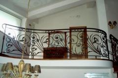 Парапет от ковано желязо с орнамент - кралска  лилия 9033