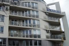 Външни парапети за жилищна сграда 8046