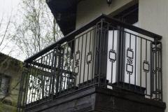 Парапет за тераса с правоъгълни орнаменти 8028