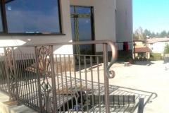 Перило от ковано желязо за тераса 8013
