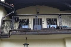 Парапет за балкон от ковано желязо 8035
